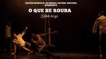 Grupo Zumb.Boys apresenta espetáculo no Teatro Arthur Azevedo
