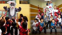 'Papai Noel do bem'  entra em ação também na Páscoa