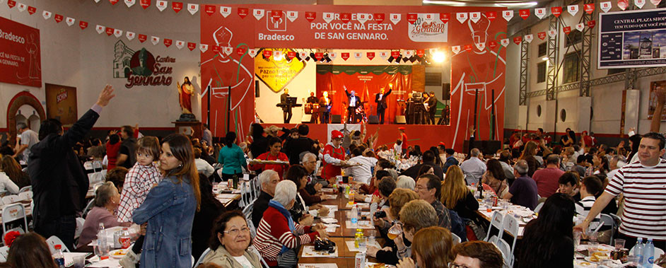 Festa de San Gennaro prossegue neste sábado