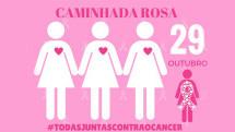 Caminhada Rosa e Azul contra o câncer