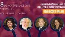 João Doria abre o 13º Encontro de Empresários da Zona Leste