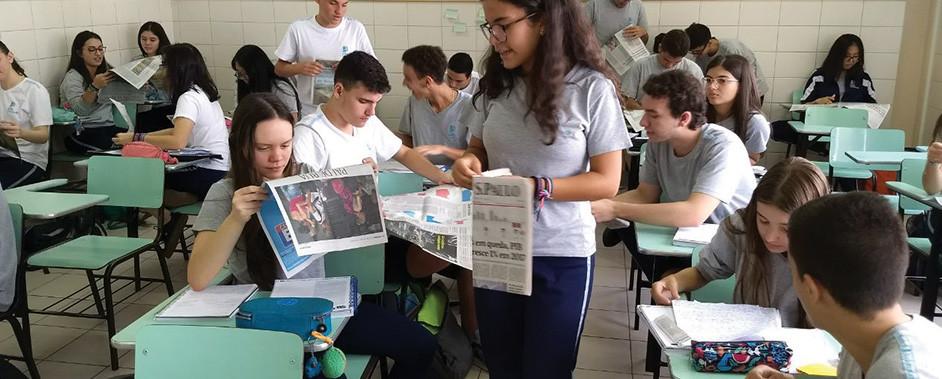 Eleições 2018:  Colégio Santa Catarina ensina como votar consciente